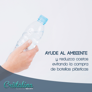 NO mas botellas plásticas